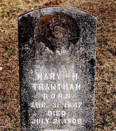 TRANTHAM, MARY M - Carroll County, Arkansas | MARY M TRANTHAM - Arkansas Gravestone Photos