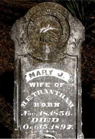 TRANTHAM, MARY J. - Carroll County, Arkansas | MARY J. TRANTHAM - Arkansas Gravestone Photos