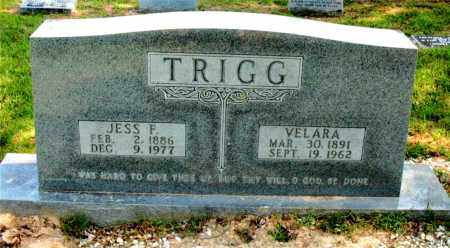 TRIGG, JESS F - Carroll County, Arkansas | JESS F TRIGG - Arkansas Gravestone Photos