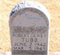TUBB, ROBERT DEWEY - Carroll County, Arkansas   ROBERT DEWEY TUBB - Arkansas Gravestone Photos