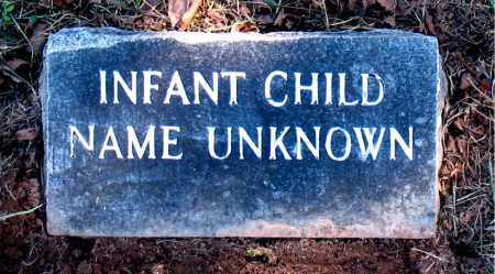 UNKNOWN, INFANT CHILD - Carroll County, Arkansas | INFANT CHILD UNKNOWN - Arkansas Gravestone Photos