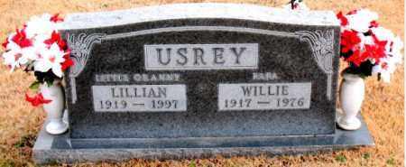 USREY, WILLIE - Carroll County, Arkansas | WILLIE USREY - Arkansas Gravestone Photos