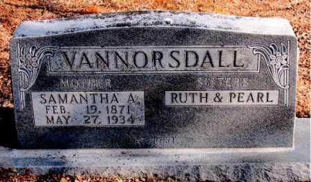 VANNORSDALL, SAMANTHA - Carroll County, Arkansas | SAMANTHA VANNORSDALL - Arkansas Gravestone Photos