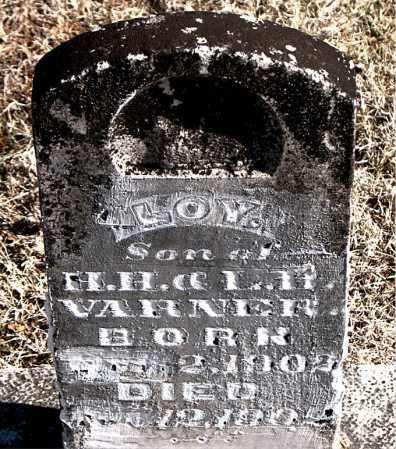 VARNER, LOY - Carroll County, Arkansas   LOY VARNER - Arkansas Gravestone Photos