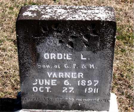VARNER, ORDIE L - Carroll County, Arkansas   ORDIE L VARNER - Arkansas Gravestone Photos