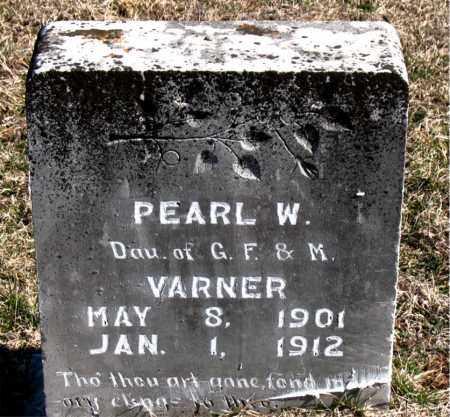 VARNER, PEARL W - Carroll County, Arkansas | PEARL W VARNER - Arkansas Gravestone Photos