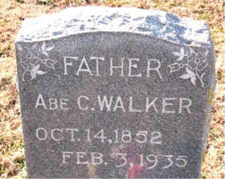 WALKER, ABE C. - Carroll County, Arkansas | ABE C. WALKER - Arkansas Gravestone Photos