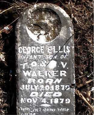 WALKER, GEORGE  ELLIS - Carroll County, Arkansas | GEORGE  ELLIS WALKER - Arkansas Gravestone Photos
