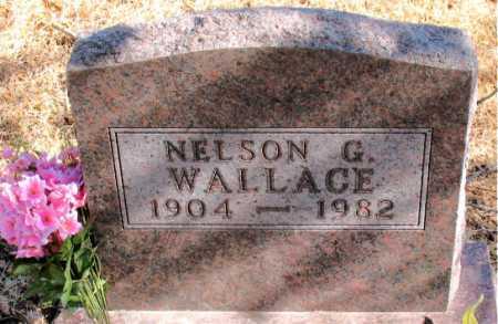 WALLACE, NELSON G. - Carroll County, Arkansas   NELSON G. WALLACE - Arkansas Gravestone Photos