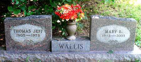 HUDSON WALLIS, MARY ETHEL - Carroll County, Arkansas | MARY ETHEL HUDSON WALLIS - Arkansas Gravestone Photos