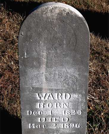 WARD, LEVI T. - Carroll County, Arkansas   LEVI T. WARD - Arkansas Gravestone Photos
