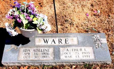WARE, ARTHUR  L. - Carroll County, Arkansas | ARTHUR  L. WARE - Arkansas Gravestone Photos