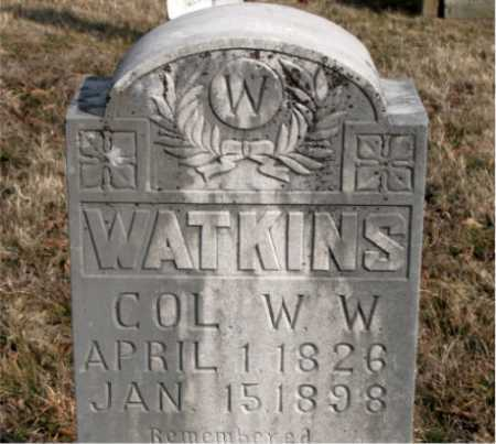 WATKINS (VETERAN), W.W. - Carroll County, Arkansas | W.W. WATKINS (VETERAN) - Arkansas Gravestone Photos