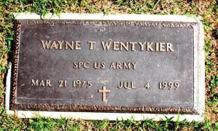 WENTYKIER  (VETERAN), WAYNE T - Carroll County, Arkansas | WAYNE T WENTYKIER  (VETERAN) - Arkansas Gravestone Photos