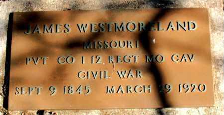 WESTMORELAND (VETERAN UNION), JAMES - Carroll County, Arkansas | JAMES WESTMORELAND (VETERAN UNION) - Arkansas Gravestone Photos