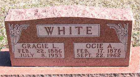 WHITE, GRACIE L - Carroll County, Arkansas | GRACIE L WHITE - Arkansas Gravestone Photos