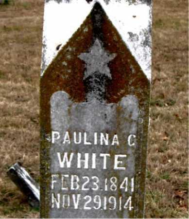 WHITE, PAULINE C. - Carroll County, Arkansas   PAULINE C. WHITE - Arkansas Gravestone Photos