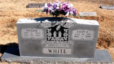 WHITE, PAULINE - Carroll County, Arkansas | PAULINE WHITE - Arkansas Gravestone Photos