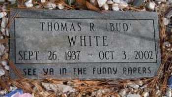 "WHITE, THOMAS R ""BUD"" - Carroll County, Arkansas 