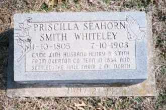 WHITELEY, PRISCILLA SMITH - Carroll County, Arkansas | PRISCILLA SMITH WHITELEY - Arkansas Gravestone Photos
