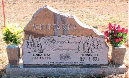 WHITTAKER, DENNIS  LEE - Carroll County, Arkansas | DENNIS  LEE WHITTAKER - Arkansas Gravestone Photos