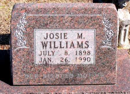 WILLIAMS, JOSIE M - Carroll County, Arkansas | JOSIE M WILLIAMS - Arkansas Gravestone Photos