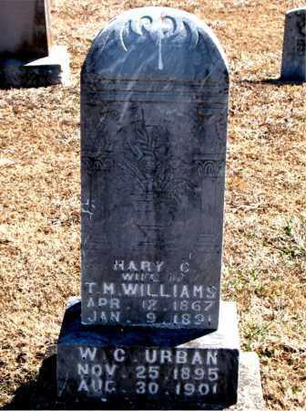 WILLIAMS, MARY C. - Carroll County, Arkansas | MARY C. WILLIAMS - Arkansas Gravestone Photos