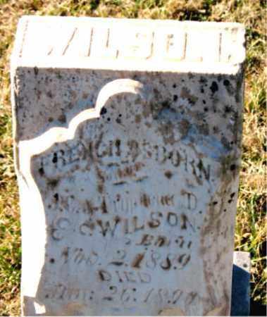 WILSON, FRENCH  OSBORN - Carroll County, Arkansas | FRENCH  OSBORN WILSON - Arkansas Gravestone Photos