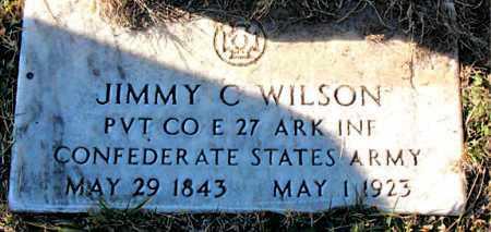 WILSON  (VETERAN CSA), JIMMY  C - Carroll County, Arkansas   JIMMY  C WILSON  (VETERAN CSA) - Arkansas Gravestone Photos