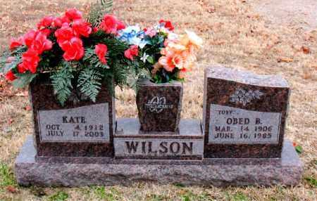 WILSON, O'BED  B.   (TOBY) - Carroll County, Arkansas   O'BED  B.   (TOBY) WILSON - Arkansas Gravestone Photos