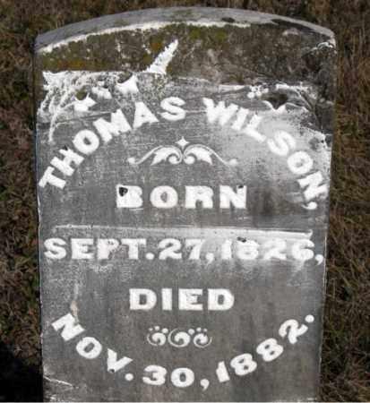 WILSON, THOMAS - Carroll County, Arkansas | THOMAS WILSON - Arkansas Gravestone Photos