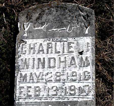 WINDHAM, CHARLIE - Carroll County, Arkansas | CHARLIE WINDHAM - Arkansas Gravestone Photos