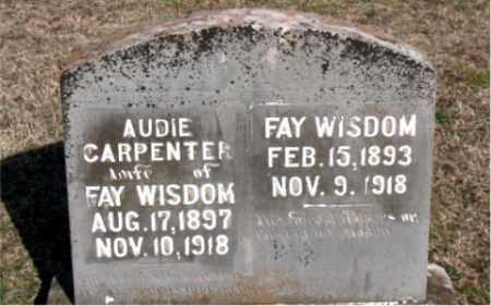 WISDOM, FAY - Carroll County, Arkansas | FAY WISDOM - Arkansas Gravestone Photos
