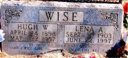 WISE, LENA  A. - Carroll County, Arkansas | LENA  A. WISE - Arkansas Gravestone Photos