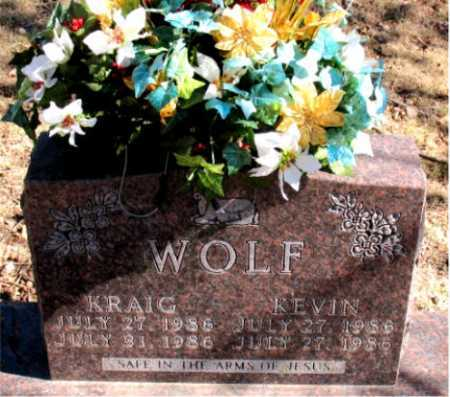WOLF, KRAIG - Carroll County, Arkansas | KRAIG WOLF - Arkansas Gravestone Photos