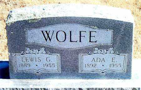 WOLFE, LEWIS G. - Carroll County, Arkansas | LEWIS G. WOLFE - Arkansas Gravestone Photos