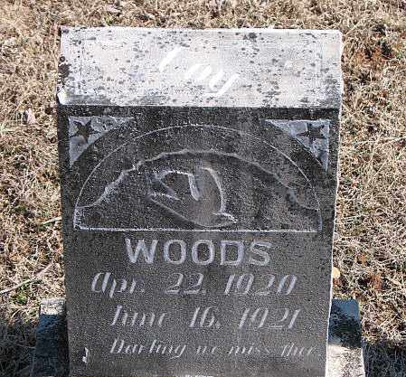 WOODS, COY - Carroll County, Arkansas | COY WOODS - Arkansas Gravestone Photos