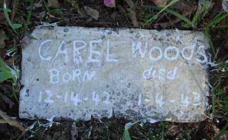 WOODS, CAREL - Carroll County, Arkansas   CAREL WOODS - Arkansas Gravestone Photos