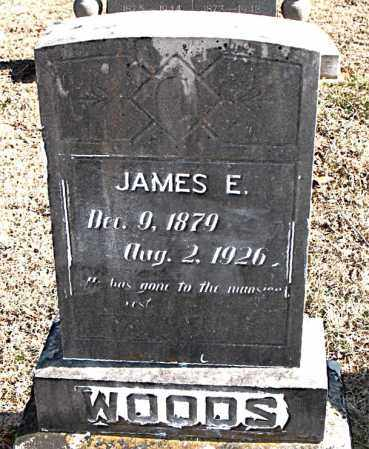 WOODS, JAMES E - Carroll County, Arkansas | JAMES E WOODS - Arkansas Gravestone Photos