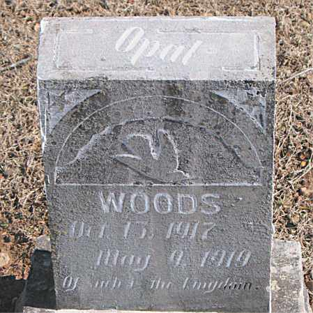 WOODS, OPAL - Carroll County, Arkansas | OPAL WOODS - Arkansas Gravestone Photos