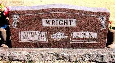 WRIGHT, LESTER  W. - Carroll County, Arkansas | LESTER  W. WRIGHT - Arkansas Gravestone Photos