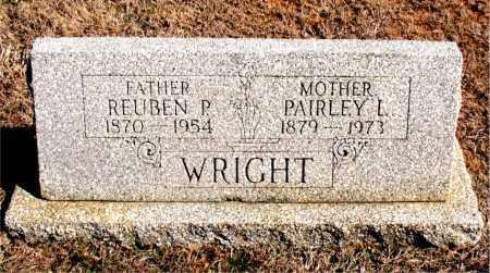WRIGHT, REUBEN  P. - Carroll County, Arkansas   REUBEN  P. WRIGHT - Arkansas Gravestone Photos
