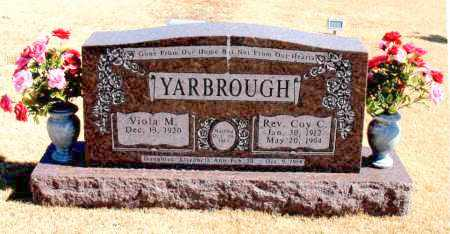YARBROUGH, REV., COY C. - Carroll County, Arkansas   COY C. YARBROUGH, REV. - Arkansas Gravestone Photos