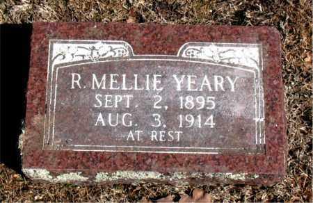 YEARY, R. MELLIE - Carroll County, Arkansas   R. MELLIE YEARY - Arkansas Gravestone Photos