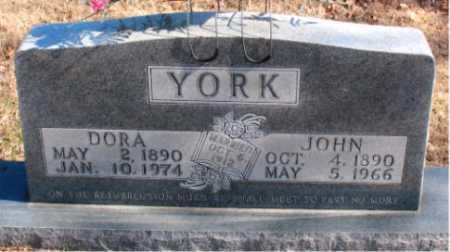 YORK, DORA - Carroll County, Arkansas | DORA YORK - Arkansas Gravestone Photos
