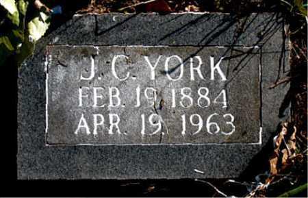 YORK, J.  C. - Carroll County, Arkansas   J.  C. YORK - Arkansas Gravestone Photos