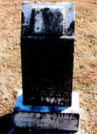 YOUNG, FRED - Carroll County, Arkansas   FRED YOUNG - Arkansas Gravestone Photos