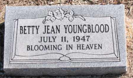YOUNGBLOOD, BETTY  JEAN - Carroll County, Arkansas | BETTY  JEAN YOUNGBLOOD - Arkansas Gravestone Photos