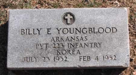 YOUNGBLOOD (VETERAN KOR), BILLY  E - Carroll County, Arkansas | BILLY  E YOUNGBLOOD (VETERAN KOR) - Arkansas Gravestone Photos