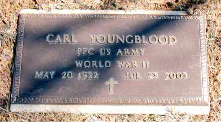 YOUNGBLOOD (VETERAN WWII), CARL - Carroll County, Arkansas | CARL YOUNGBLOOD (VETERAN WWII) - Arkansas Gravestone Photos